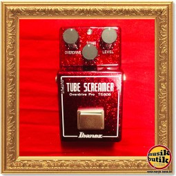 Ibanez Tubescreamer Pro TS808 40th Anniversary Custom Ruby Red Sparkle 1