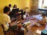 Ensayos por grupos - MusikalSol 2014
