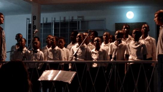 Ein wirklich toller Auftritt der Nima-Kinder