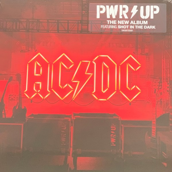 LP AC/DC - Power Up Cover
