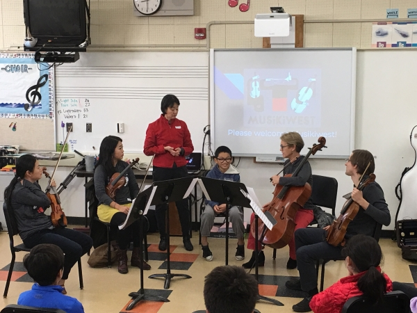 Chamber Musicians Strike A Chord With Students