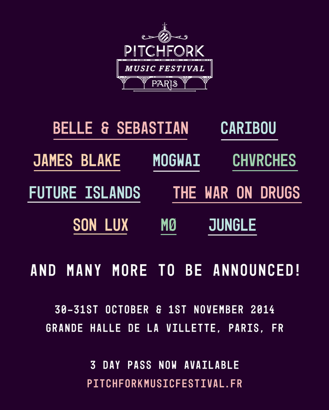 Pitchfork Music Festival Paris 2014