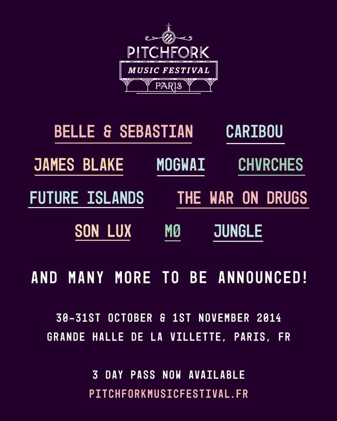 Pitchfork Music Festival Paris 2014