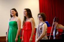 von links nach rechts: Julia Glock, Alina Sprenger, Sophie Schafhauser