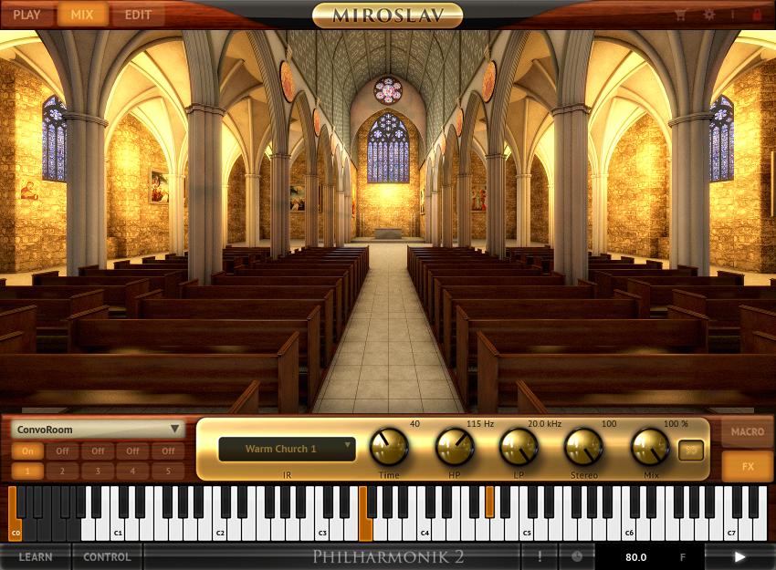 Miroslav Philharmonic Convoroom