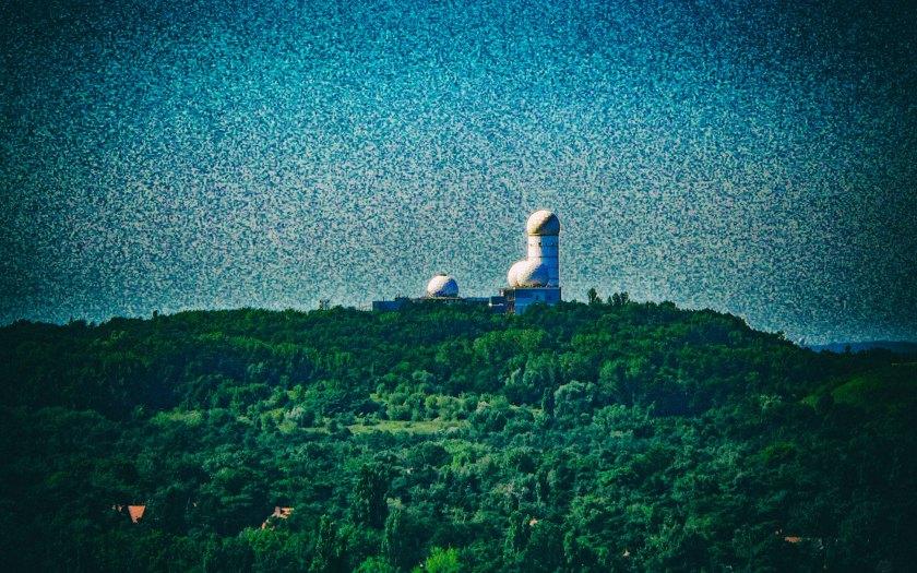 Teufelsberg mit -zeug. Foto: Hufner