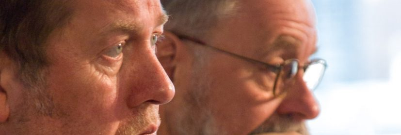 Gemeinsame Sache: Dieter Gorny und Hans Bäßler. Foto: Hufner Gemeinsame Sache: Dieter Gorny und Hans Bäßler. Foto: Hufner