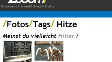 Meinten Sie vielleicht Hitler?