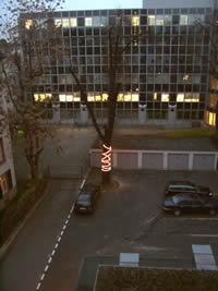 Weihnachten in Frankfurt. Foto: Hufner