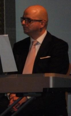 Ein entspannter Dirigent
