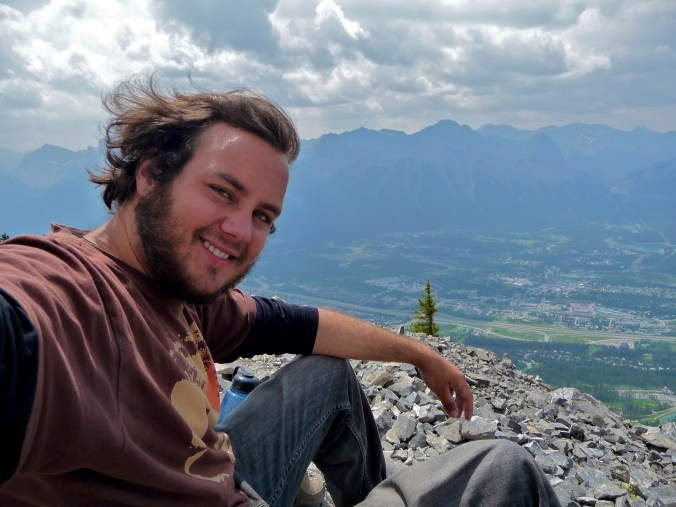 Summit of Mount Lady Macdonald - I've been hiking a lot recently, but hiking at altitude is a mission. This was about a 5 hour climb