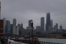 Looking north from Navy Pier
