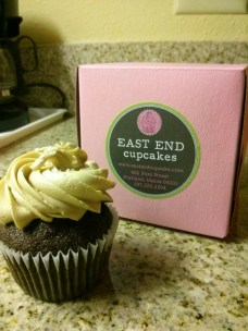 Salted Caramel Cupcake from East End Cupcakes in Portland, ME