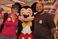 Us with Mickey!