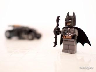 Batman on Cabinet