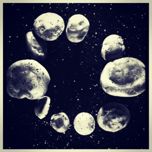 But I absolutely love this shot. Space! But these are not space objects, can you guess what they are?
