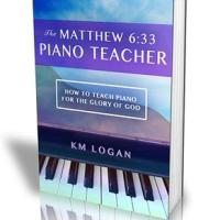The Matthew 6:33 Piano Teacher Book Review and Giveaway