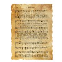 """All in Him"" Chords and Lyrics, Hymn by George Farrow"