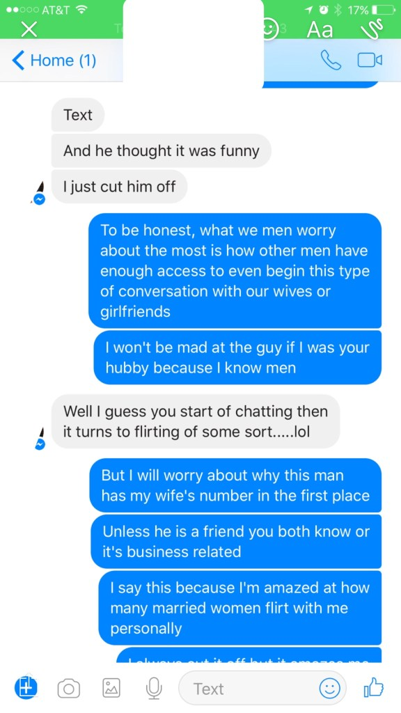 With woman flirt do married guys why Why married