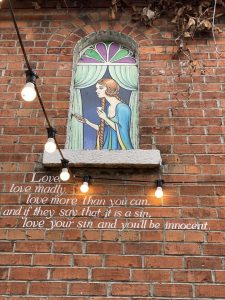 Mural in Bray. Ireland