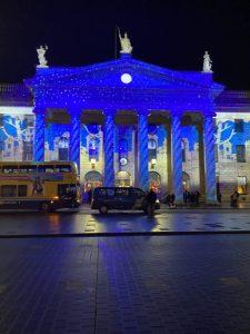 GPO Dublin at Christmas