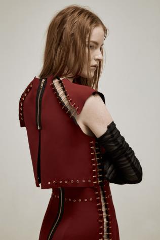 Bolt-top-skirt-red-back