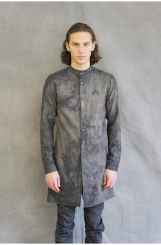 washed silk preist shirt - grey (1)-350x531