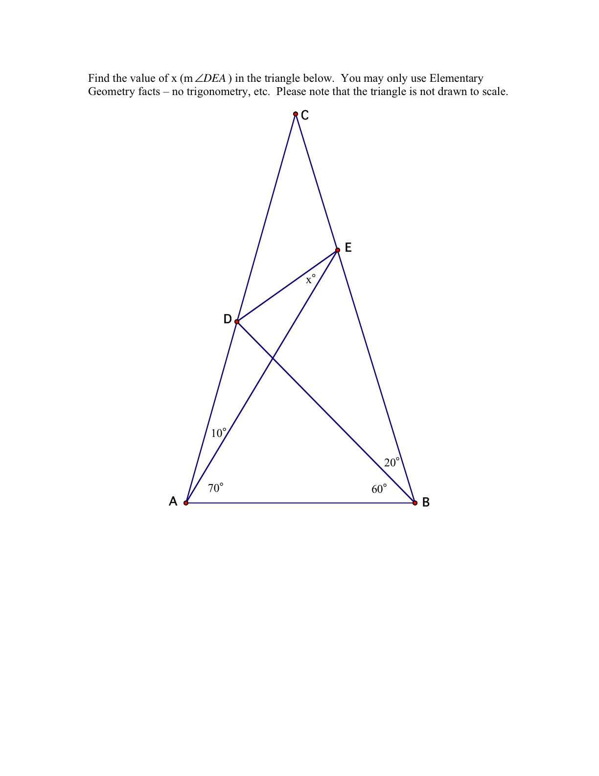 The World S Hardest Easy Geometry Problem