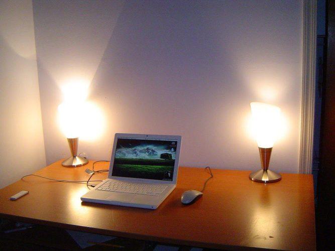 Online music lessons good lighting setup