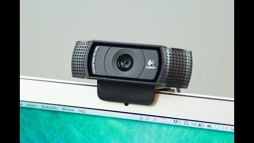Online music lessons Logitech external webcam