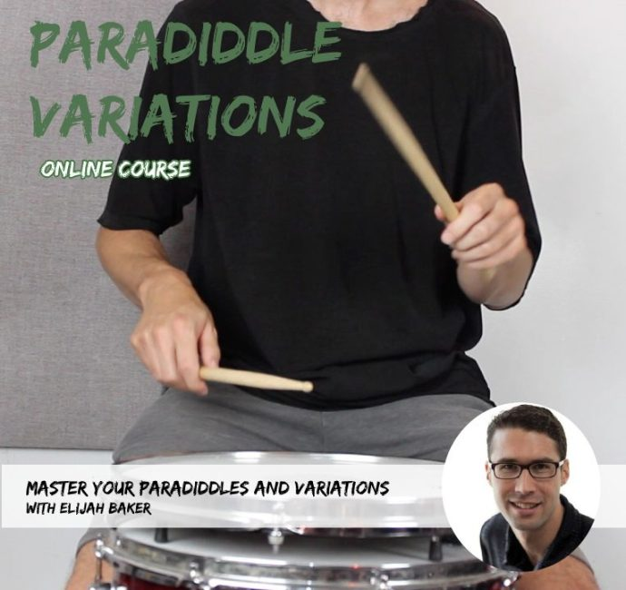 Paradiddle Variations Online Course