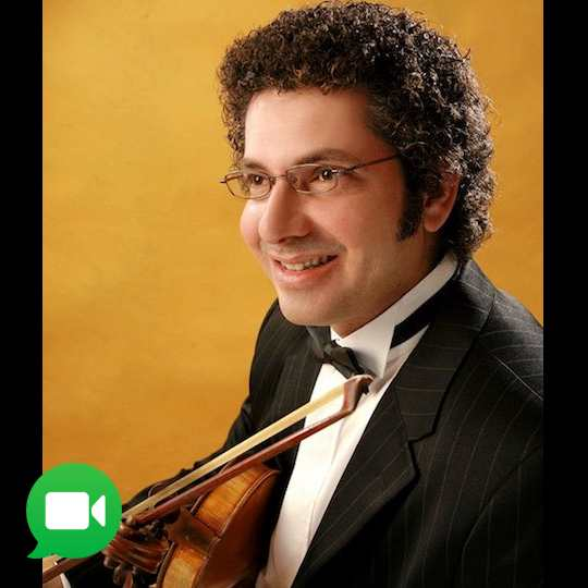 violin lessons in Toronto Mississauga with Sharif