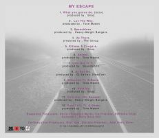 Trish 'My Escape' tracklist