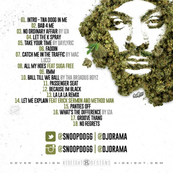 Snoop Dogg - That's My Work 2  tracklisting