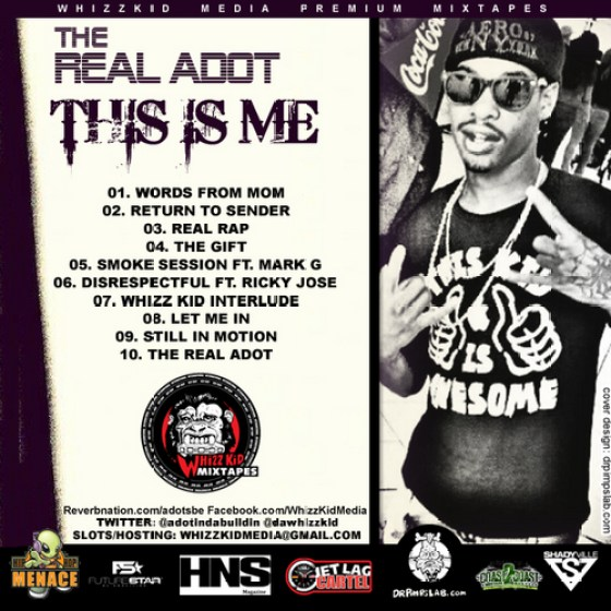 The Real ADot 'This Is Me' Tracklisting