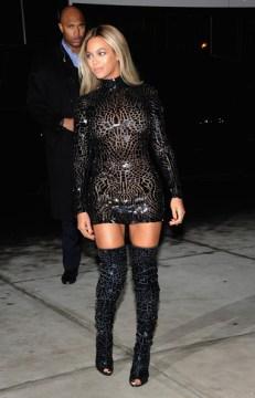 Beyonce SCREENING IN NYC 4