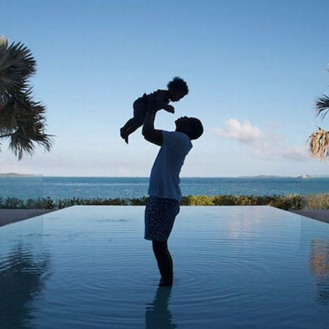 Beyonce 'God Made You Beautiful' Ivy Blue Carter