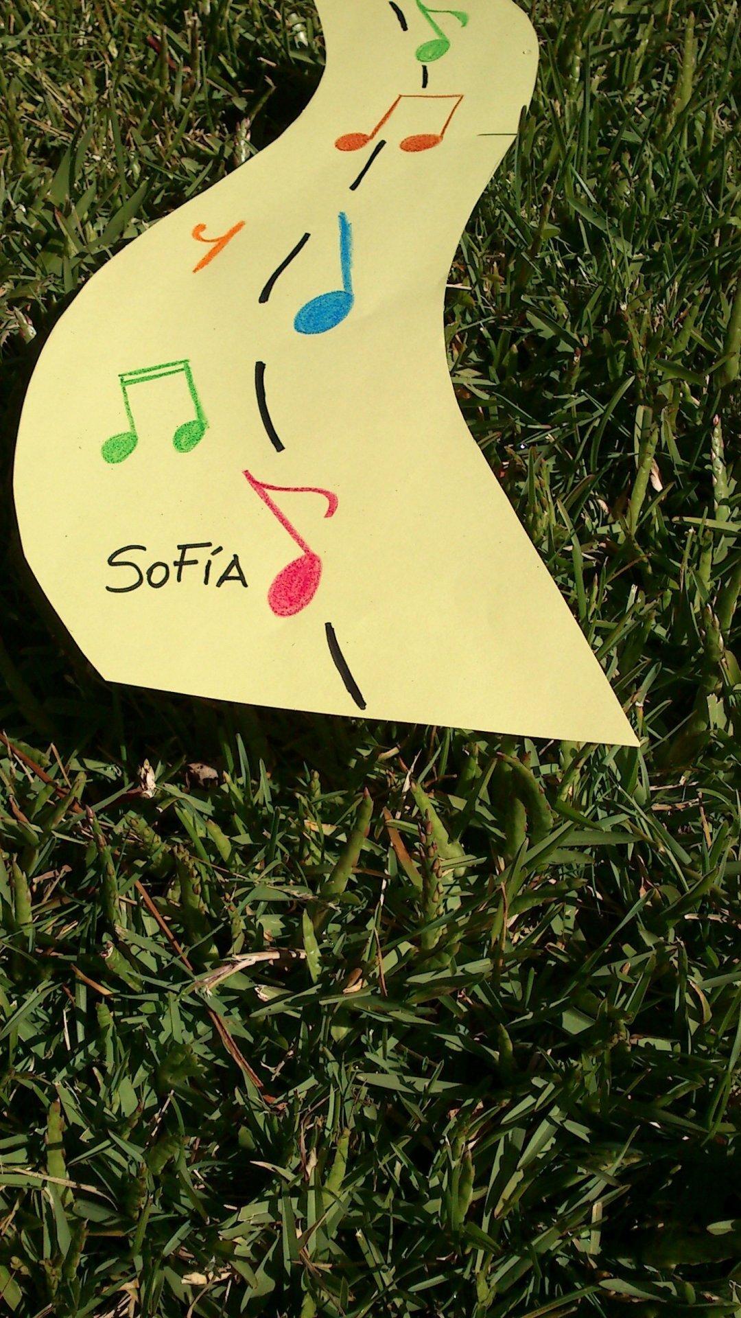 Sofía, la nueva alumna de piano