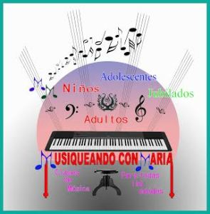 Publicidad Musiqueando con María