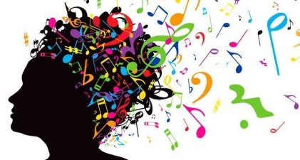 cerebro notas musicales