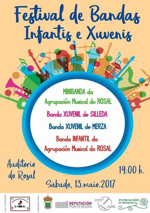 """""""Festival de Bandas de Música Infantís e Xuvenís"""" en O Rosal"""