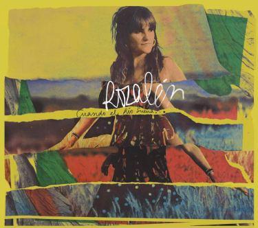 """Carátula del disco que incluye """"La puerta violeta"""""""