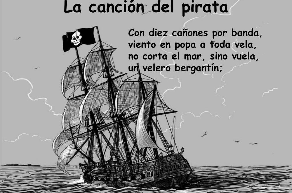 """""""La canción del pirata"""": aunamos literatura y música"""