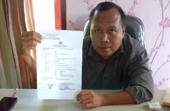 Ketua FKMS Laporkan Dugaan Pencemaran Nama Baik ke Polres Mura