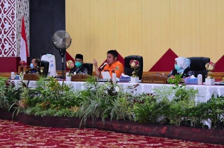 Gubernur Pastikan Penanganan Covid-19 di Musi Rawas Berjalan Baik