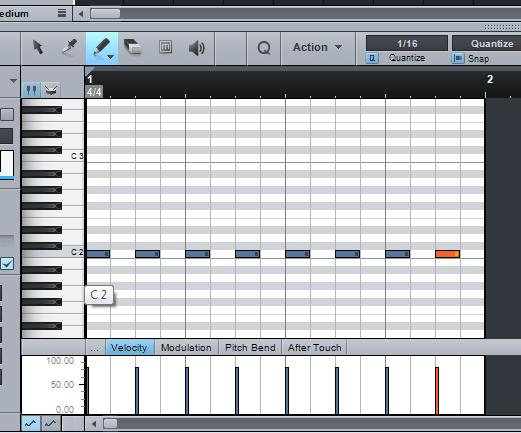 membuat variasi bass