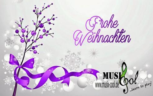 Frohe Weihnachten wünscht euer MusiX-Cool-Team