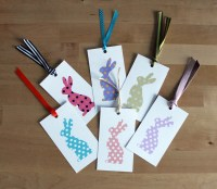 Easter bunny tags merry christmas and happy new year 2018 easter bunny tags negle Images
