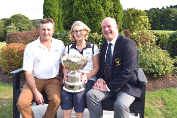 mixed foursomes competition