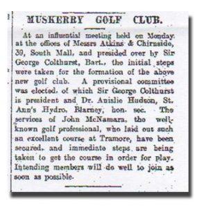 cork examiner article 1907